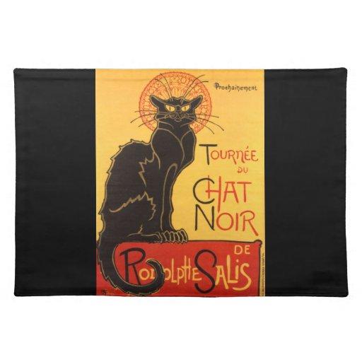 Steinlen: Chat Noir Placemats