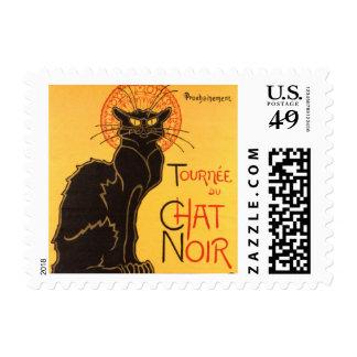 Steinlen: Chat Noir Postage
