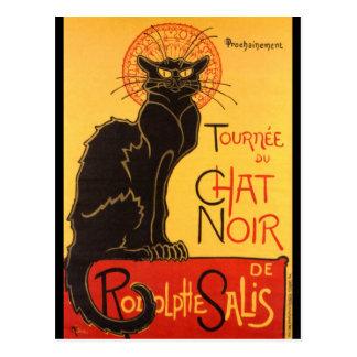 Steinlen: Chat Noir Postcard