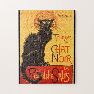 Steinlen: Chat Noir Puzzle