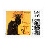 Steinlen: Chat Noir Stamp