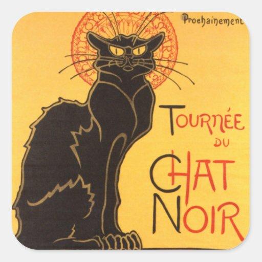Steinlen: Chat Noir Stickers