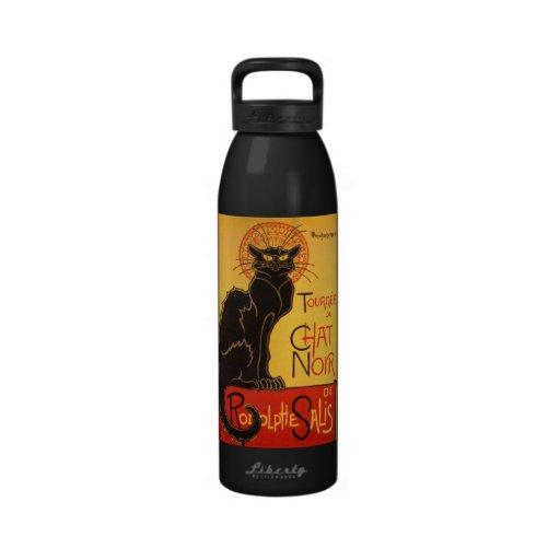 Steinlen: Chat Noir Drinking Bottle
