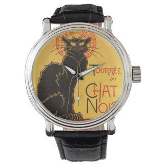 Steinlen: Chat Noir Wrist Watch
