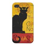 Steinlen Tournee du Chat Noir iPhone 4 Carcasa