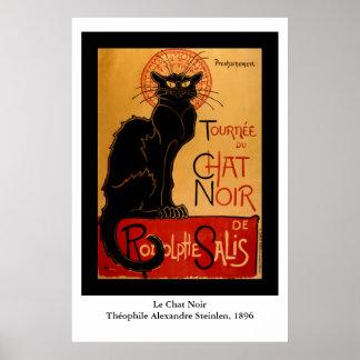 Steinlen's Le Chat Noir Poster
