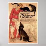 Steinlen's Vintage Clinique Chéron - Print