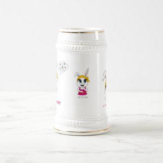 Steins Cutesy de Bunny™ Jarra De Cerveza