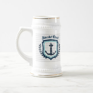 Steins náuticos de la cerveza del marinero del jarra de cerveza