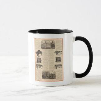 Steinway and Sons, Piano Manufacutrers Mug