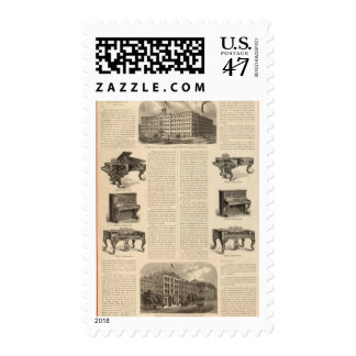 Steinway and Sons, Piano Manufacutrers Postage
