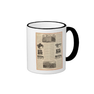 Steinway and Sons, Piano Manufacutrers Ringer Coffee Mug