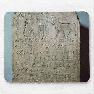 Stela commemorating the burial of the Apis Mouse Pad