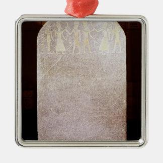 Stela de la victoria de Merenptah conocido como Adorno Para Reyes