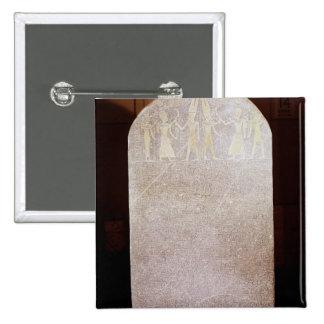 Stela de la victoria de Merenptah conocido como Pin Cuadrada 5 Cm