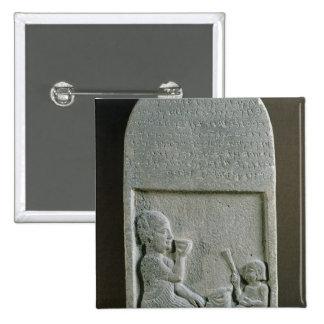 Stela de Si'gabbor, sacerdote de dios de la luna Pin Cuadrado