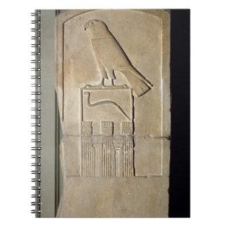 Stela del rey de la serpiente c 3000 A C piedra Libros De Apuntes