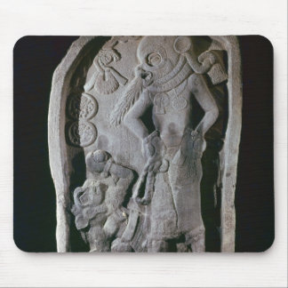 Stela depicting a ball player, from Guatemala Mouse Pad