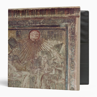 Stela depicting Aten giving life and Binder