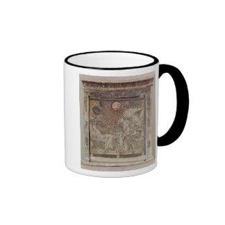 Stela depicting Aten giving life and Ringer Coffee Mug