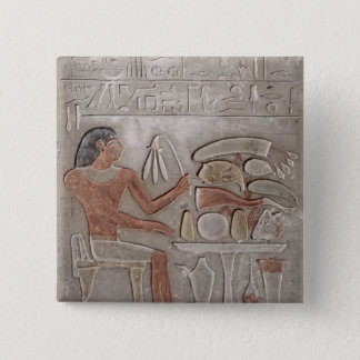 Stela depicting the deceased button