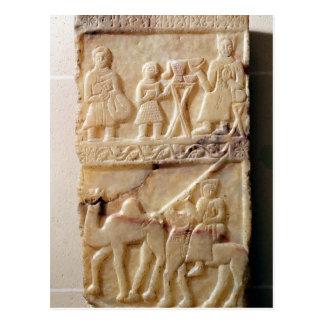 Stela funerario, de Yemen Tarjetas Postales