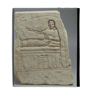 Stela funerario en nombre de la señora Artemis, fr