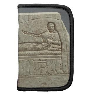 Stela funerario en nombre de la señora Artemis, fr Organizadores