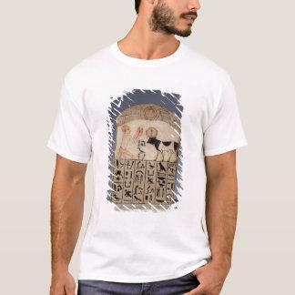 Stela to the Apis bull (painted limestone) T-Shirt