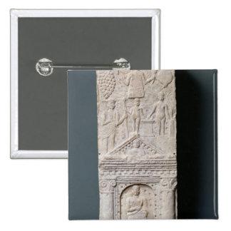Stela votivo dedicado a Saturn Pin Cuadrado