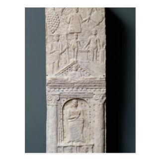 Stela votivo dedicado a Saturn Postal