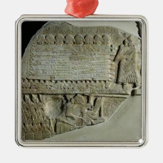 Stele de los buitres ornamentos de reyes magos