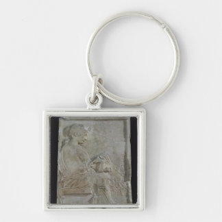 Stele de Philis, hija de Cleomenes Llavero Cuadrado Plateado