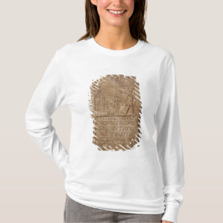 Stele dedicated to Isis depicting Cleopatra T-Shirt