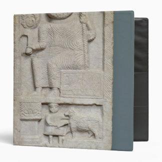 Stele dedicated to Saturn, from El-Ayaida Vinyl Binder
