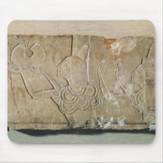 Stele depicting Ay  and his wife Teye Mouse Pad