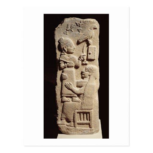 Stele funerario del escribano Tarhunpijas, Postal