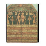 Stele of Horsiese, Late Period (painted wood) iPad Case