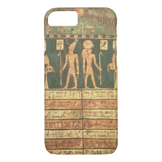 Stele of Horsiese, Late Period (painted wood) iPhone 8/7 Case