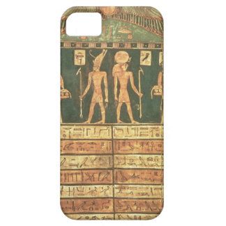 Stele of Horsiese, Late Period (painted wood) iPhone SE/5/5s Case