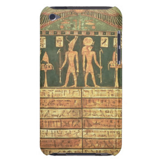 Stele of Horsiese, Late Period (painted wood) iPod Touch Case