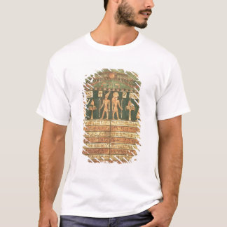 Stele of Horsiese, Late Period (painted wood) T-Shirt