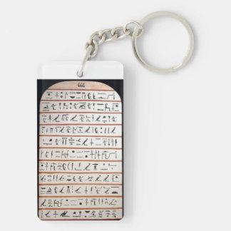 Stele of Revealing Double-Sided Key Fob Acrylic Keychain