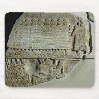Stele of the Vultures Mouse Pad
