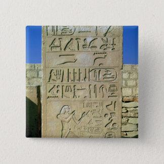 Stele of Unas  Old Kingdom Pinback Button