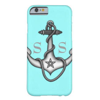 Stella Anchor Down Rope Preppy Bold Barely There iPhone 6 Case
