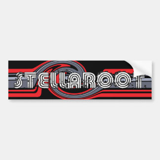 Stella Black Wave Killed Bumper Sticker