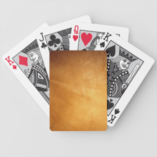 Stella Collection Spectrum Textures Orange 10 Bicycle Playing Cards