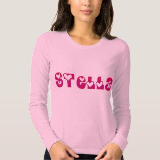 Stella en corazones poleras