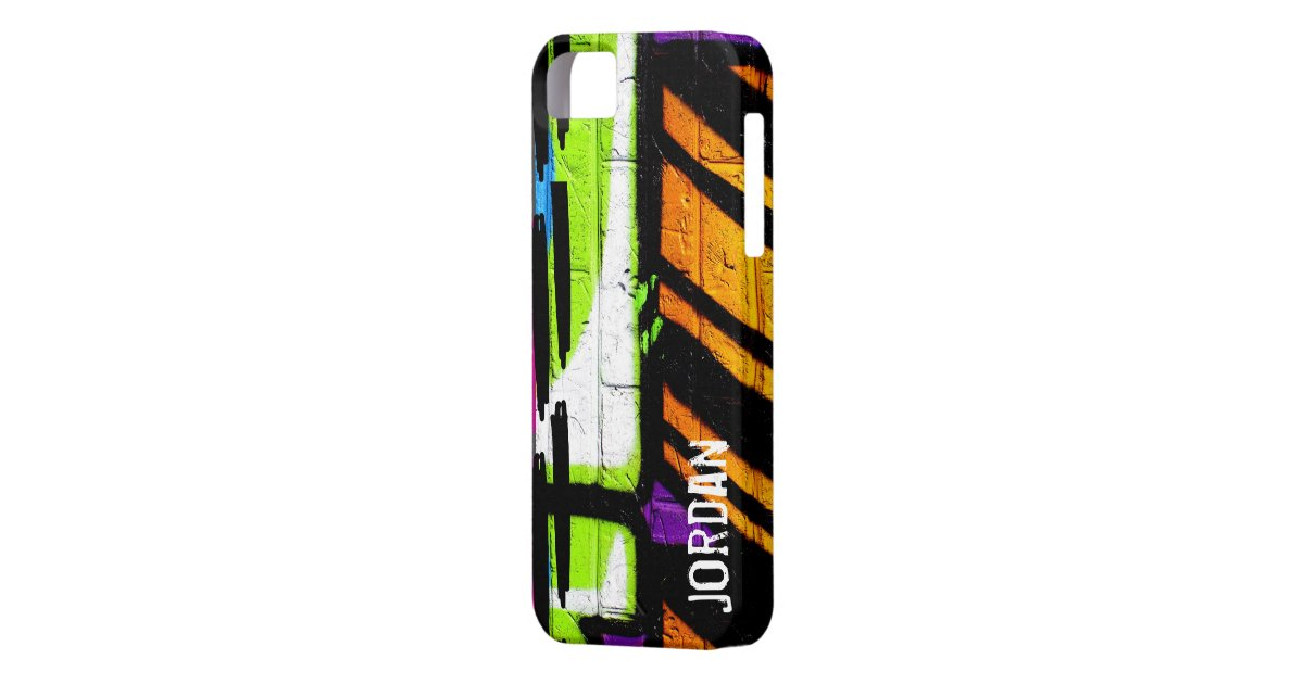 Stella graffiti personalize spray paint iphone se 5 5s for Spray paint phone case